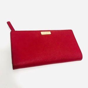Kate Spade Orient Red Wallet Clutch